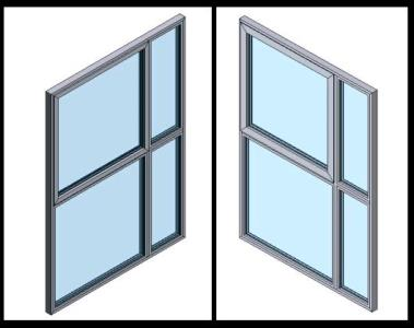 Windows in 3d