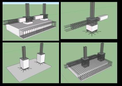 Construction detail Foundation