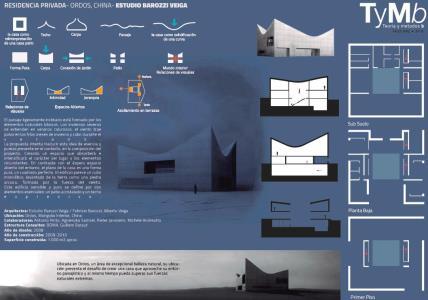 PRIVATE RESIDENCE - ORDOS; CHINA - BAROZZI VEIGA STUDIO