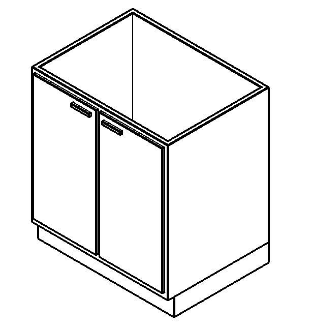 Mueble de Cocina - Bajo mesada