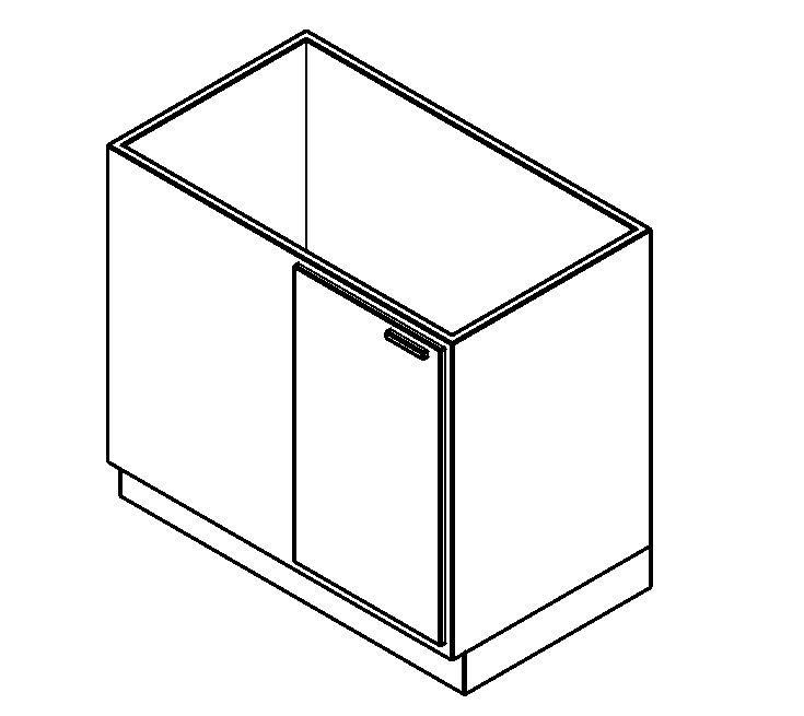muebles de cocina - bajo mesada