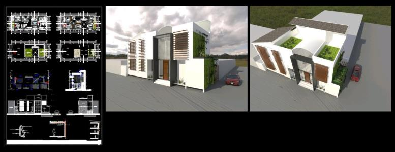 Bioclimatic housing in tarapoto - peru