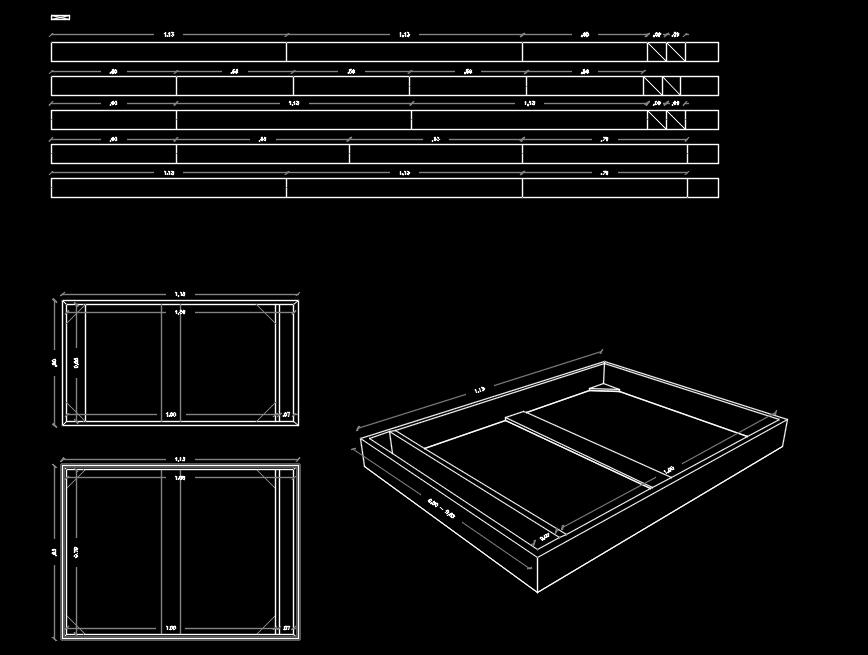 Wood Frames In Autocad Download Cad Free 118171