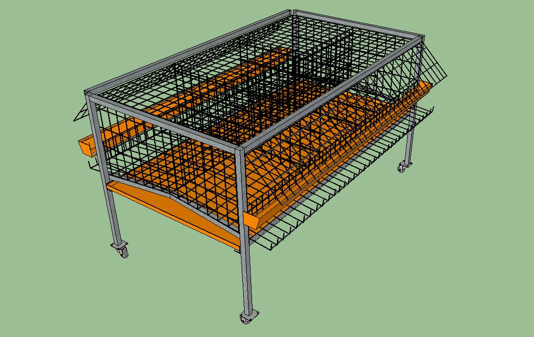 Cage for laying hens