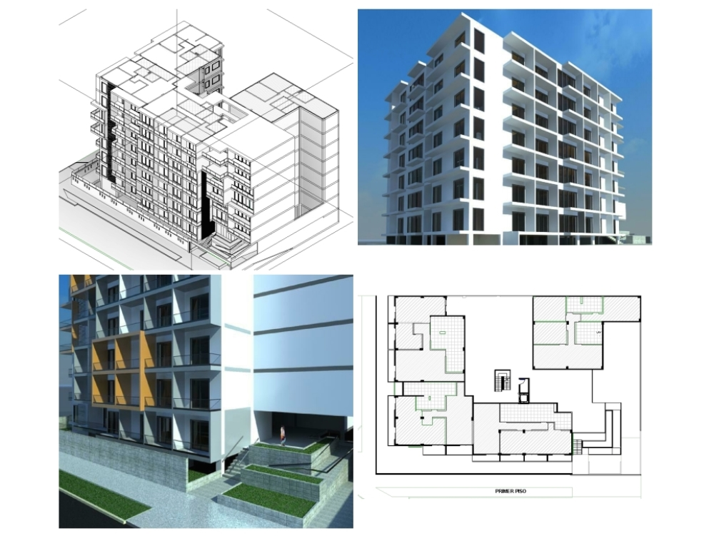 Multifamily housing in revit
