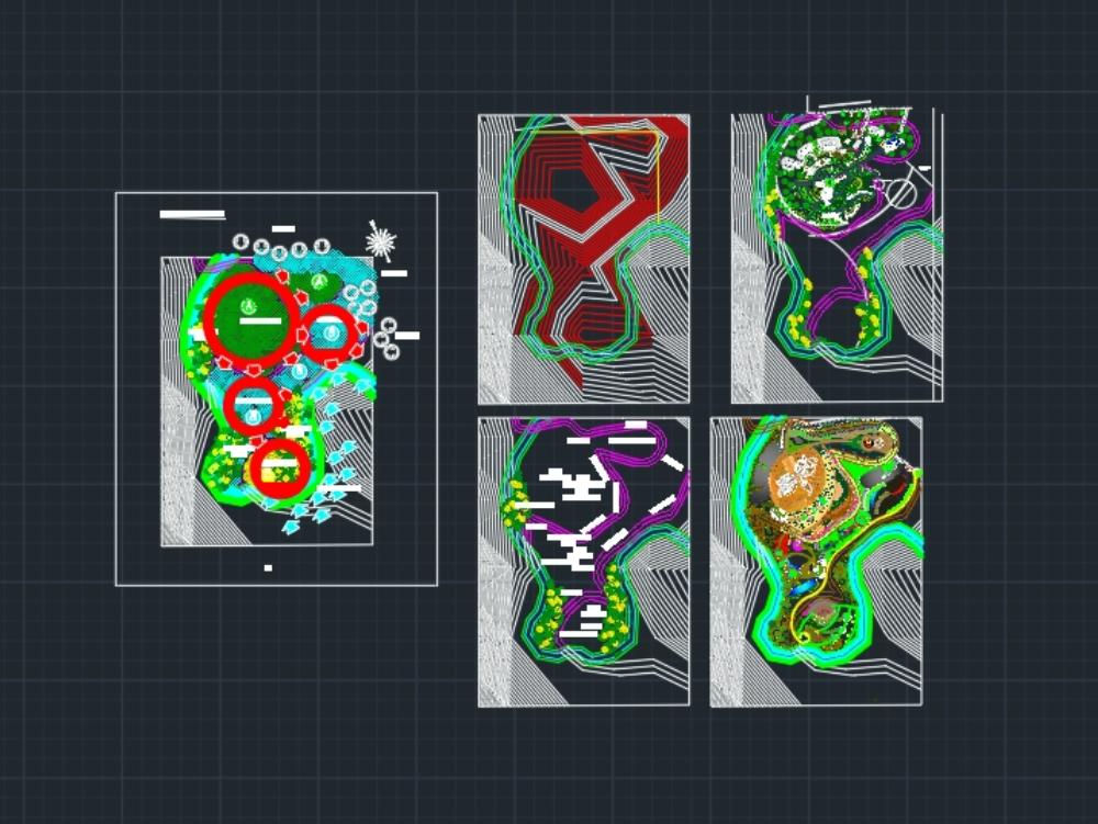 Botanical garden - 3 ecological floors