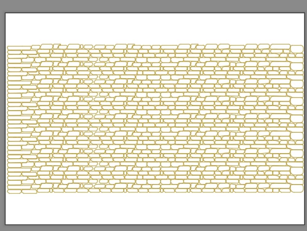 Masonry texture block - autocad