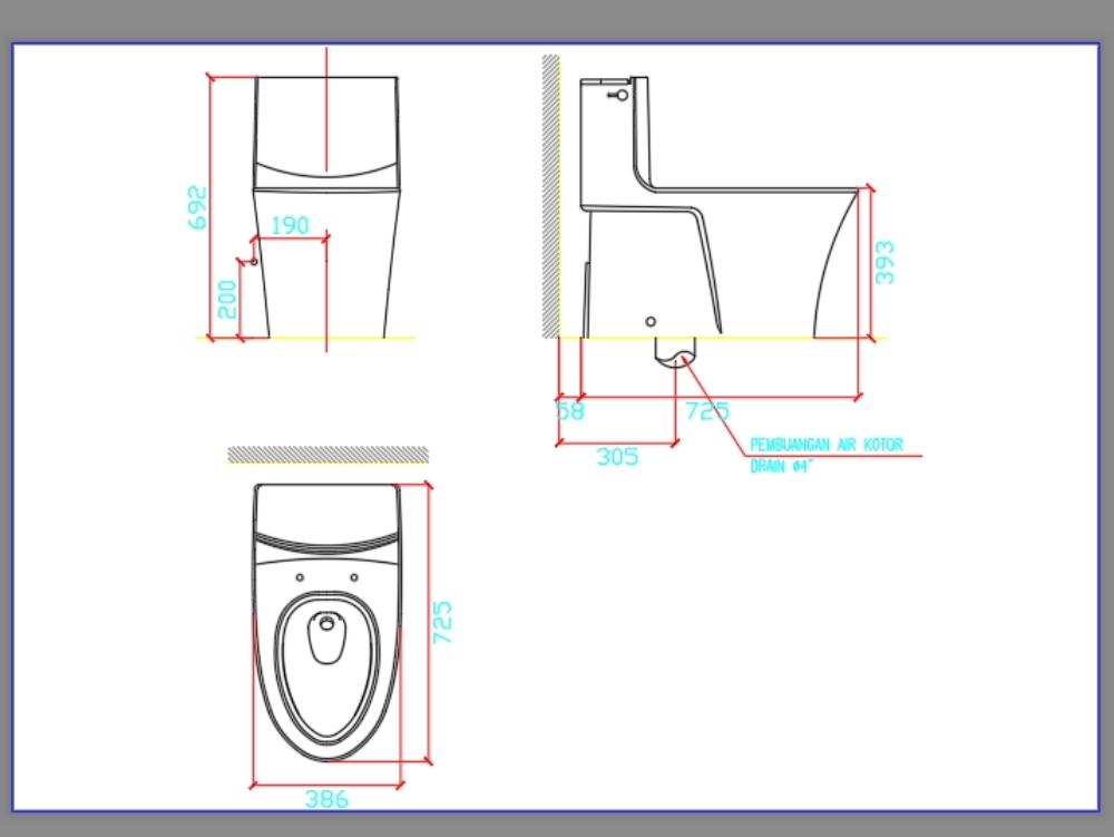 Closet dwg baño kohler nuevo diseño