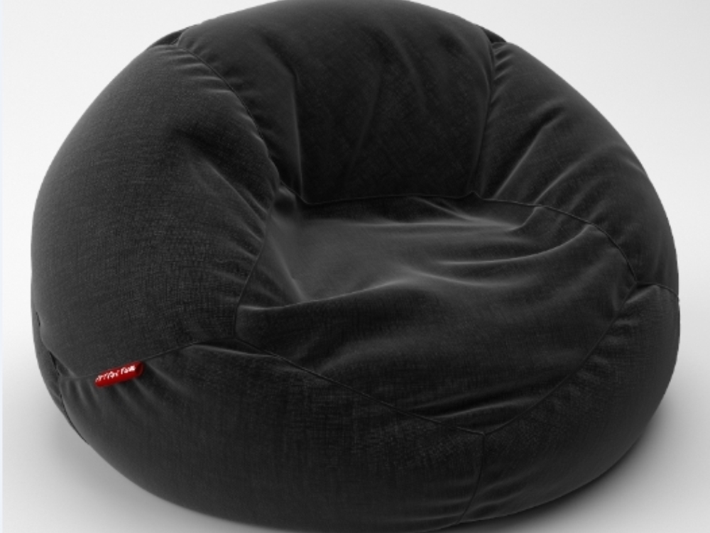 The grand leather bean bag chair