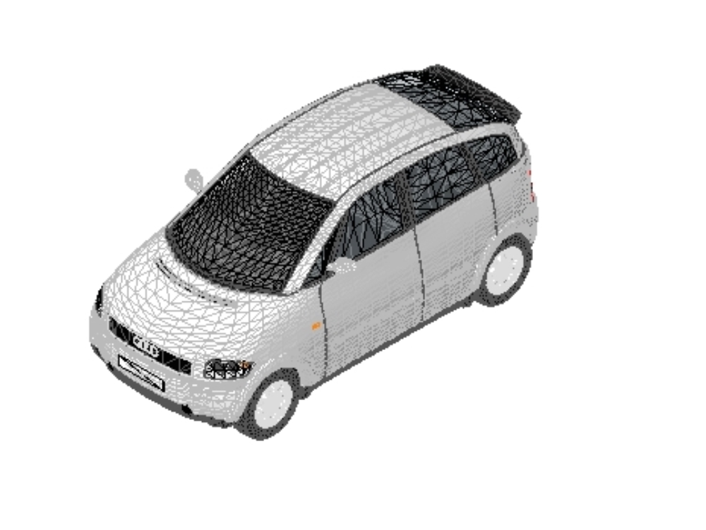 Autos revit - mercedes benz; audi a2