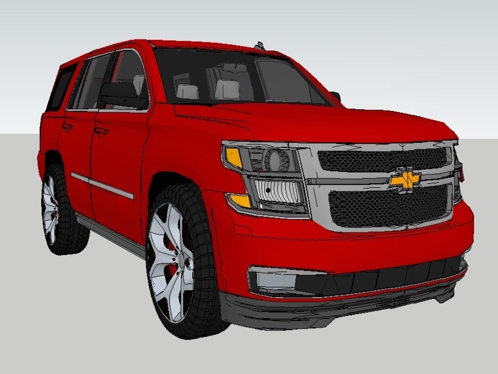 Chevrolet tahoe  - modelo 3d