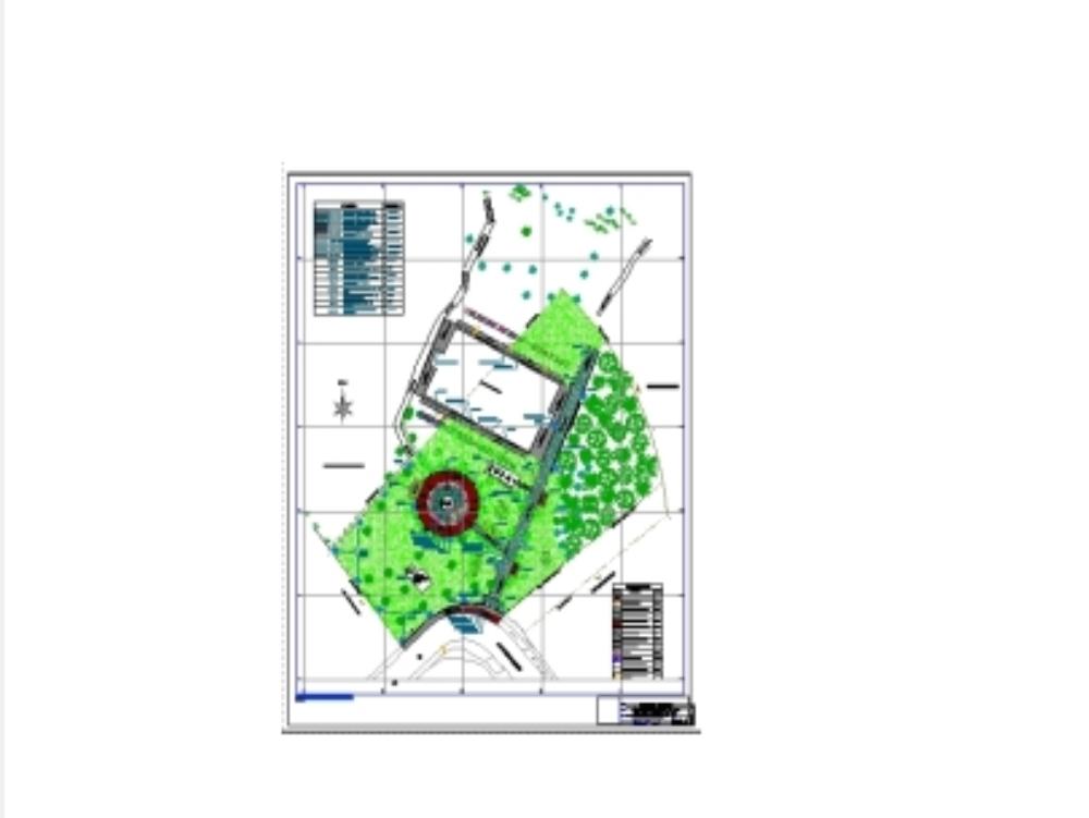 Improvement of park n ° 26 la molina lima
