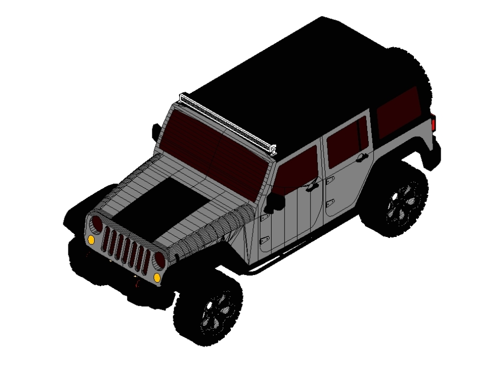 Jeep wangler manufactured by the US company fca group