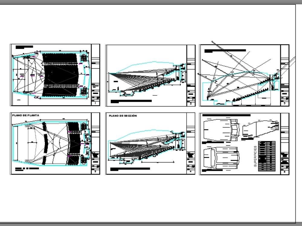 Acoustic design for theater auditorium