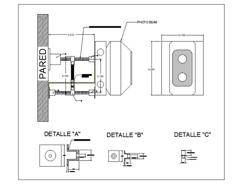 Fire Alarm System Photobeam In Autocad Cad 49 66 Kb Bibliocad