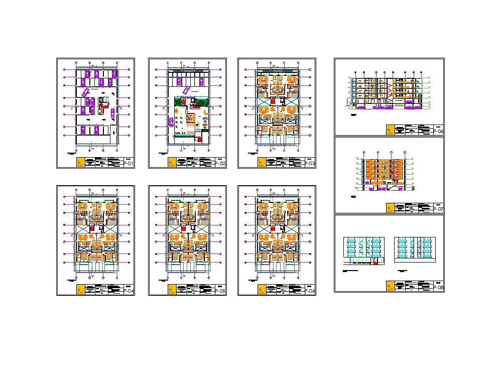 Multifamily of 5 levels with semisotano