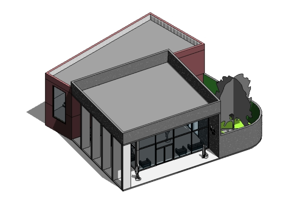 3d housing in revit in RVT | CAD download (8 69 MB) | Bibliocad