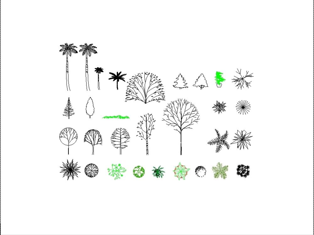 Bloques de árboles