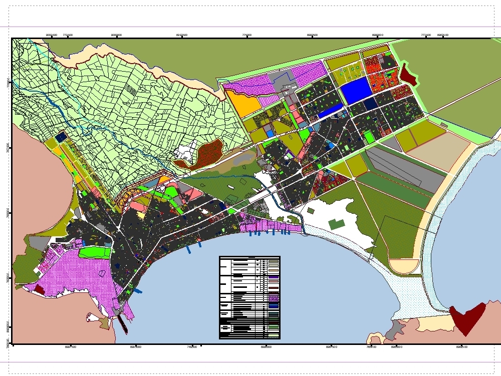 Master plan for chimbote and new chimbote