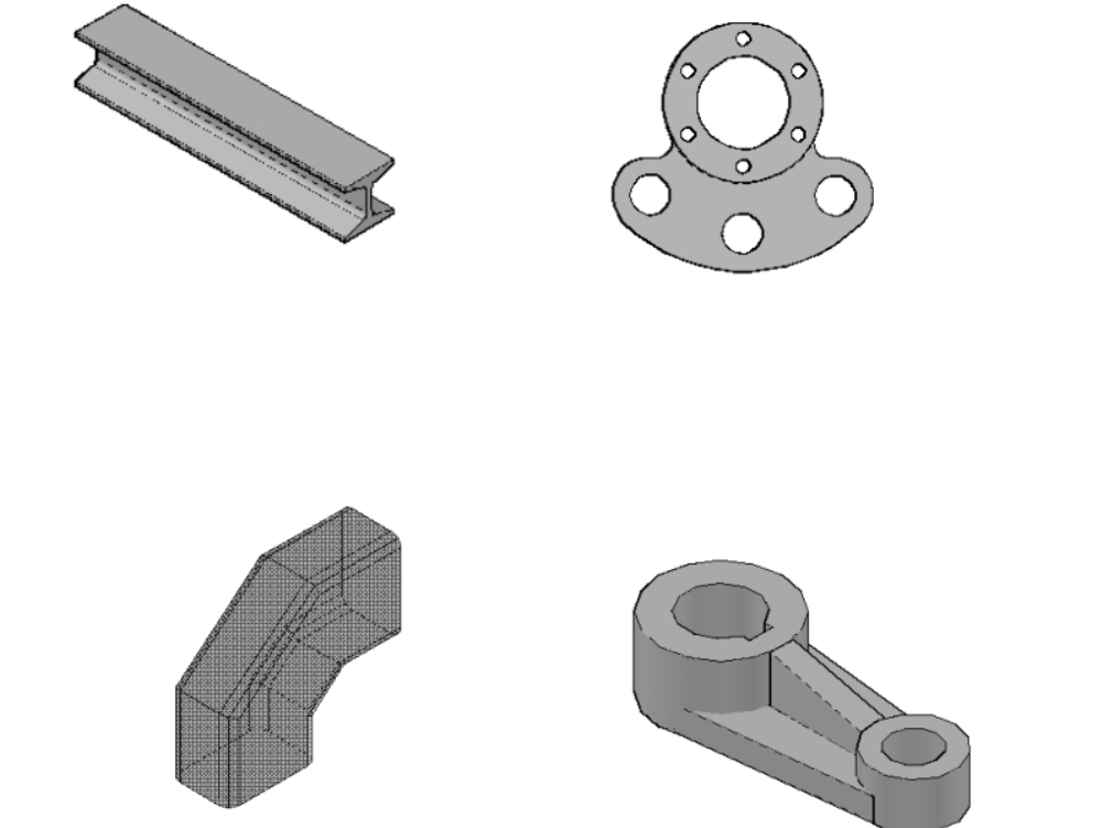 Electromechanical drawing parts