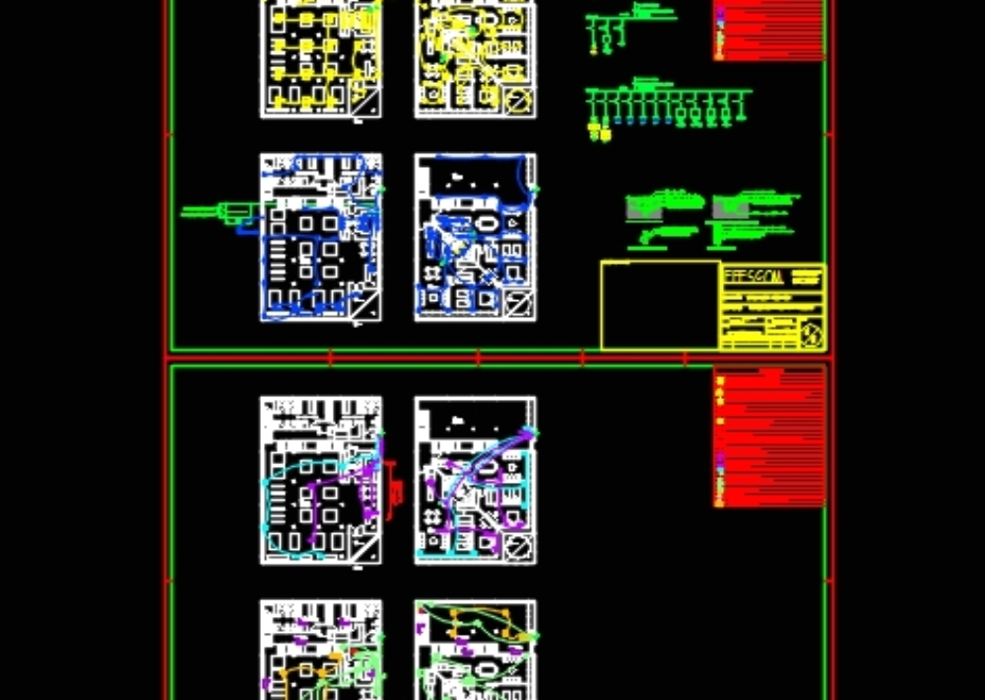 Diseño eléctrico y electrónico de gimnasio