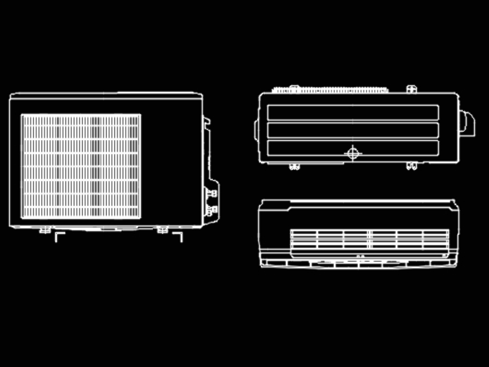 Air Conditioners 2018 Dwg Block In Autocad Cad 683 13
