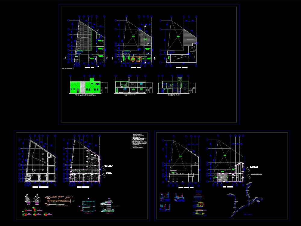 Olympic Pool With Facilities In Autocad Cad 631 37 Kb