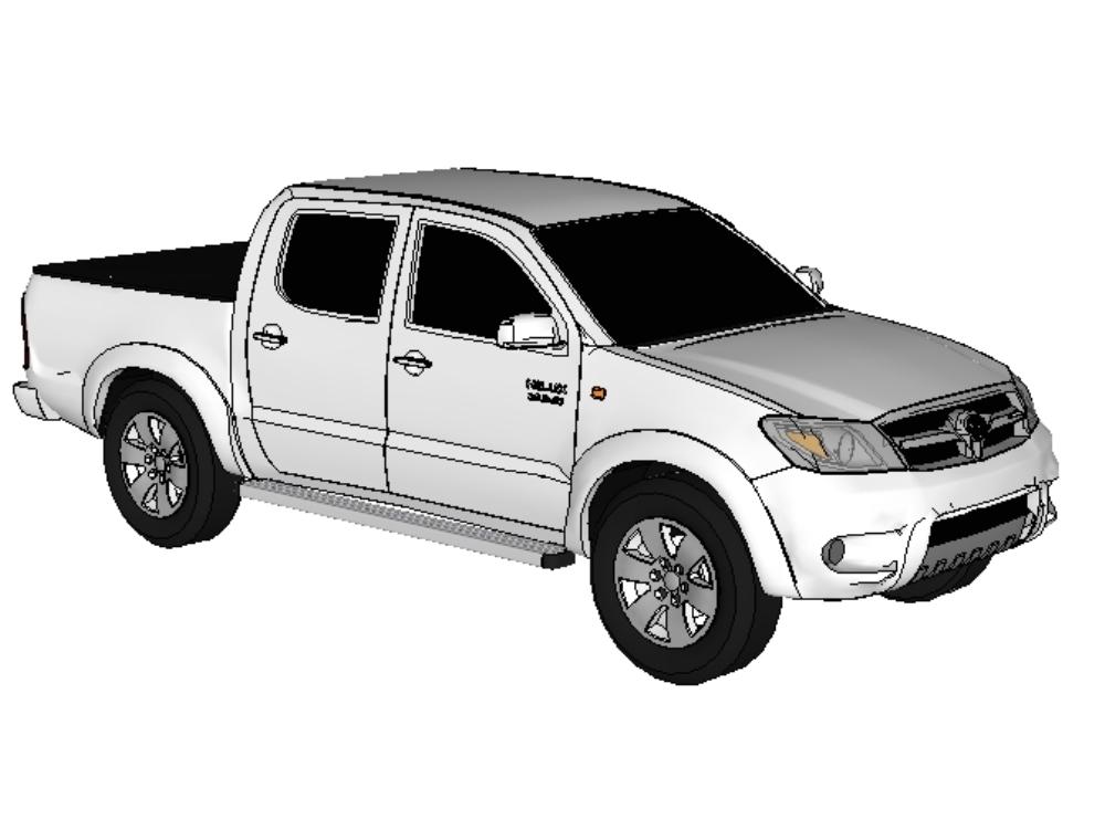 Toyota truck; modelo_hilux 2018_srv