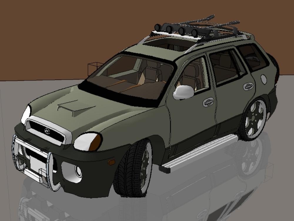 Camioneta hyundai santa fe xt sport