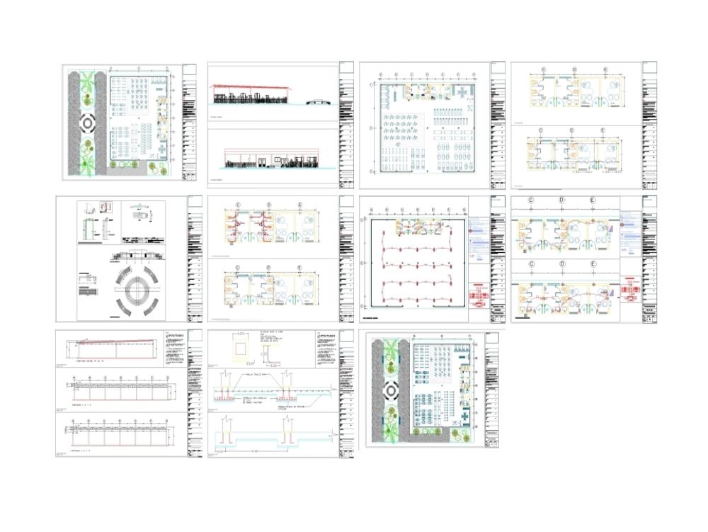 Proyecto arquitectónico gimnasio