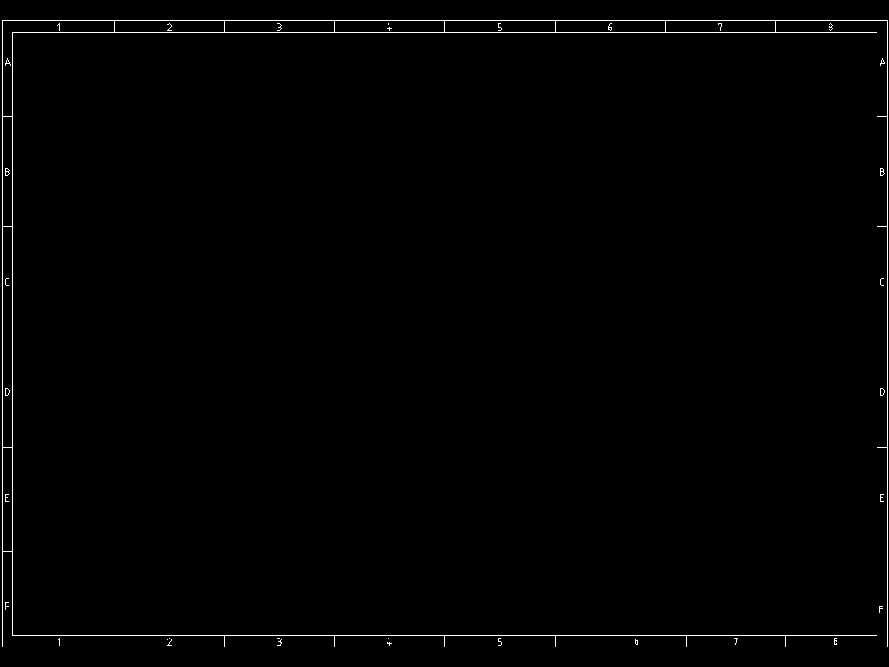Marco alfanumérico de borde de referencia