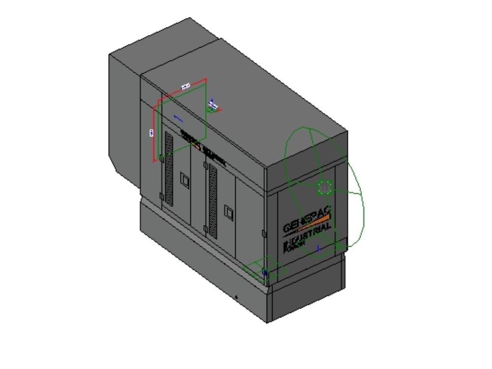 Generador eléctrico 30 kw general electric
