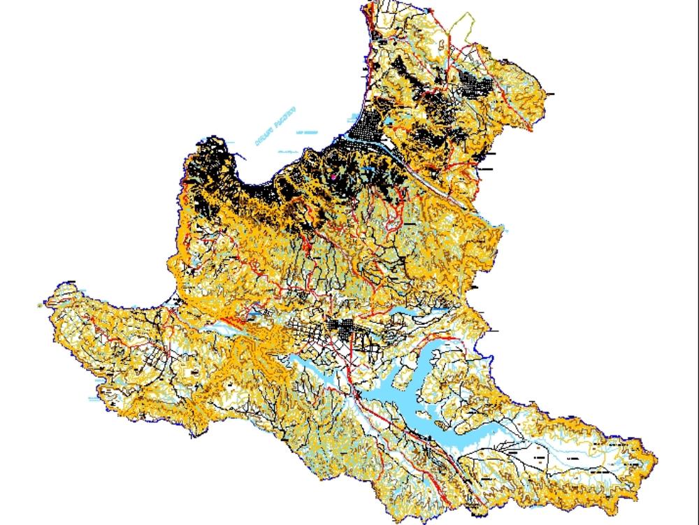Plano comuna of valparaiso; with details.