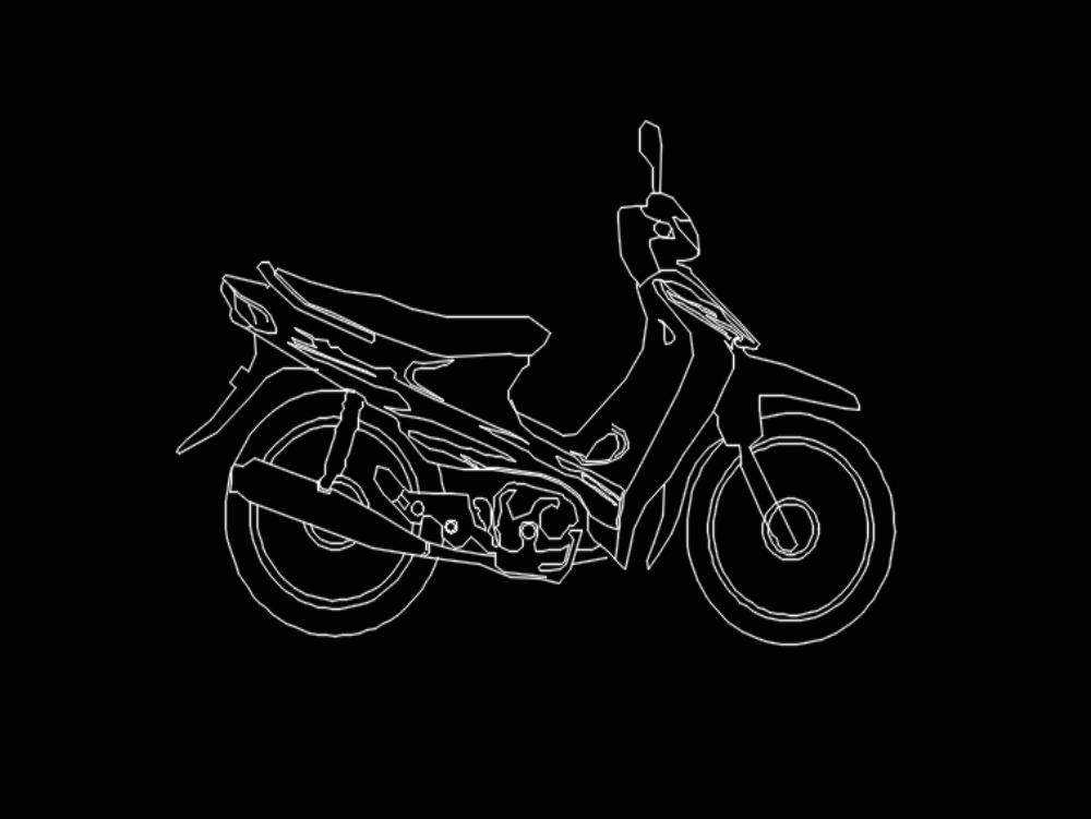 Motor jaman