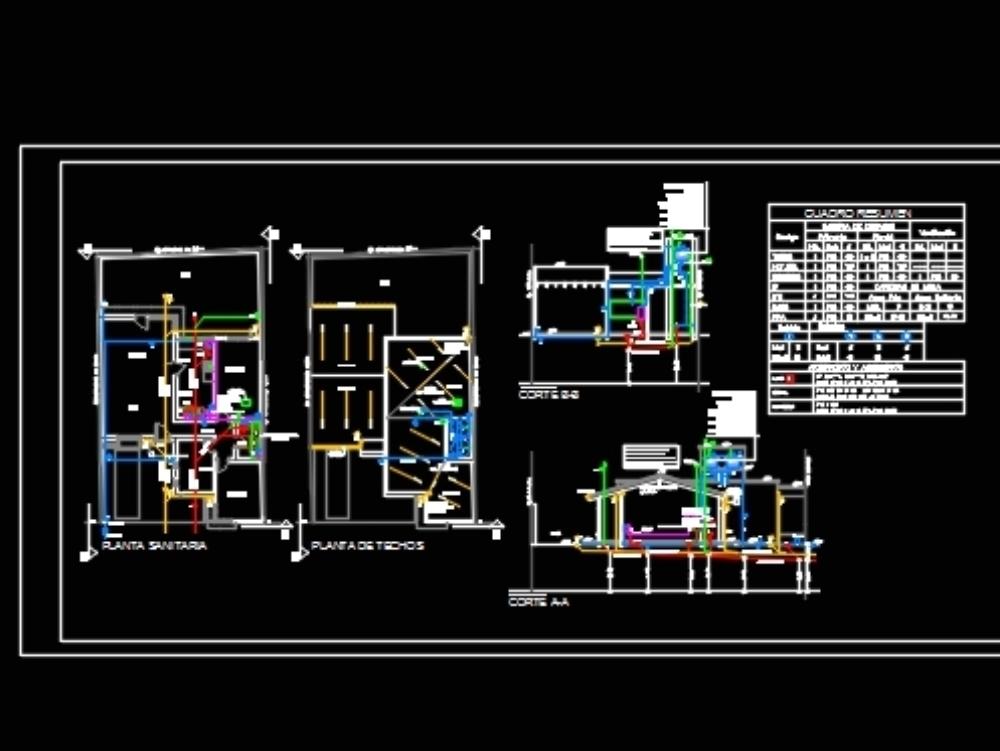 Instalacion electrica en vivienda unifamiliar