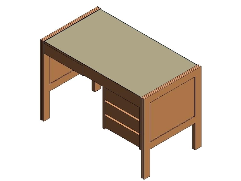 Mueble de dormitorio simple