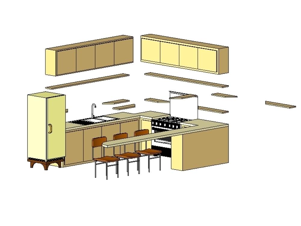 Cocineta pequeña
