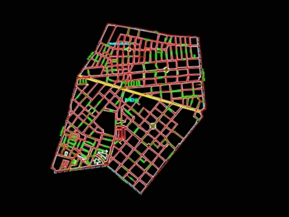 Breña cadastre in AutoCAD | Download CAD free (59 16 KB