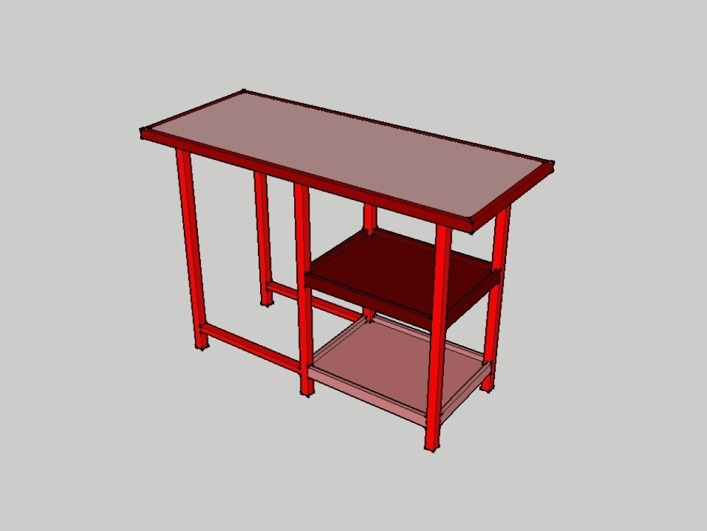 Working table for the kitchen or office