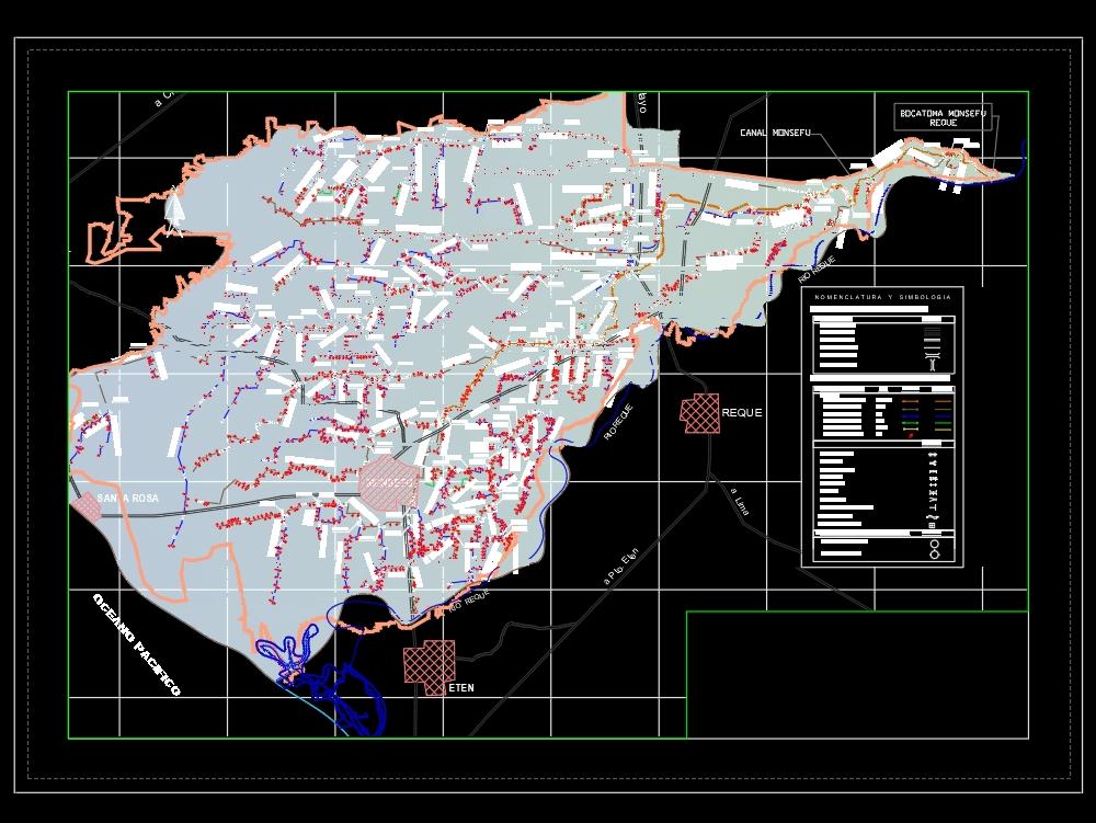 Croquis de ubicación canal monsefu