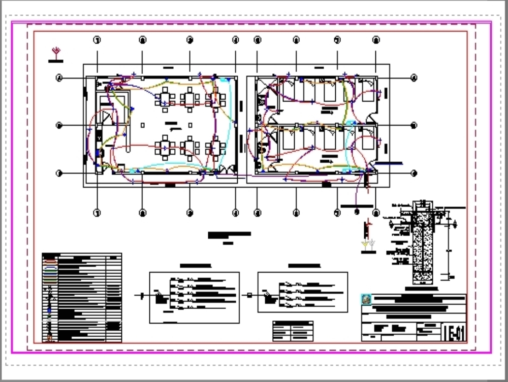 electrical installation plan housing (3 89 mb) bibliocad energy efficiency plans electrical plan bibliocad #13