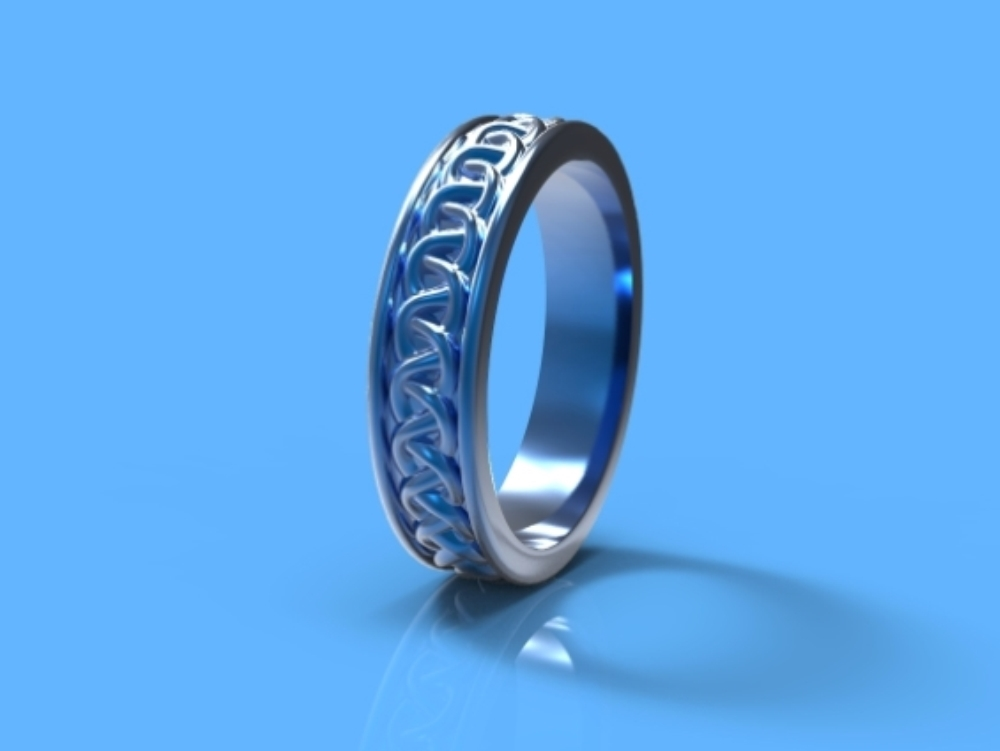Jewellery design (ring design) (3dm;3ds;skp)