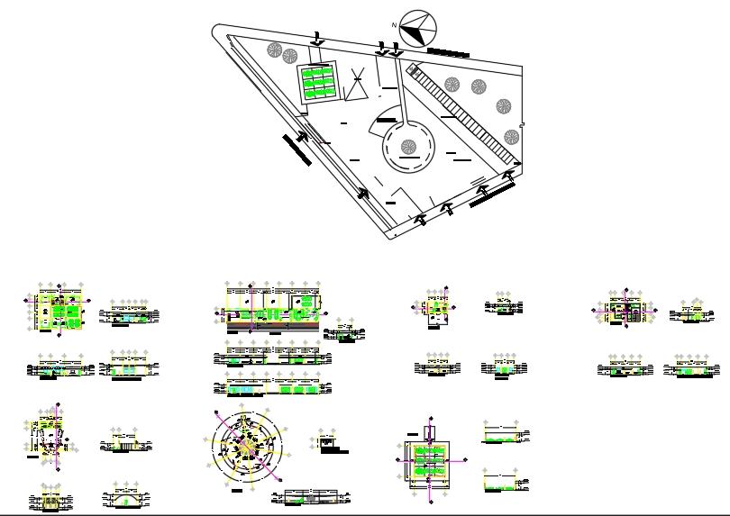 Biciestacionamiento y estacionamiento para vehículos