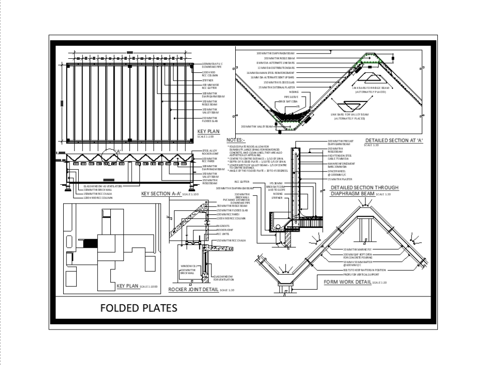Structure Folded Plates As A Roofing System 802 75 Kb
