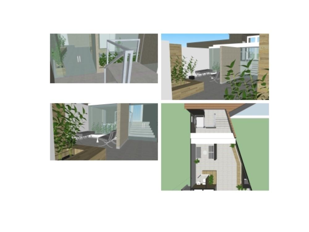 Diseño lobby principal condominio