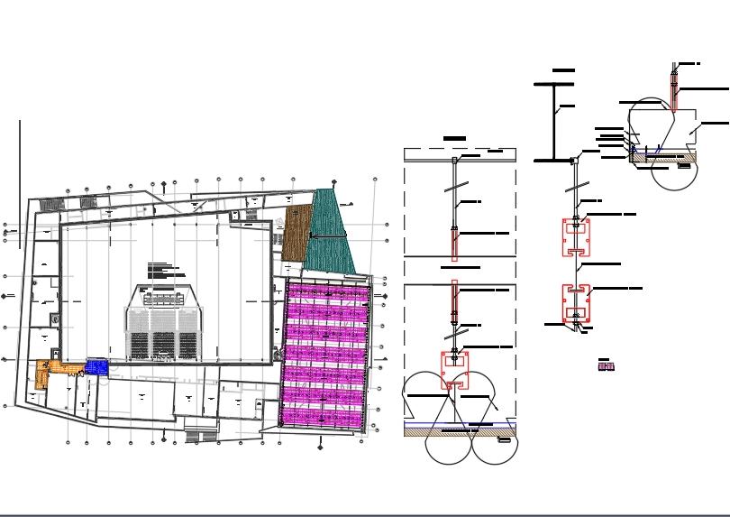 Primary framework batch false ceiling