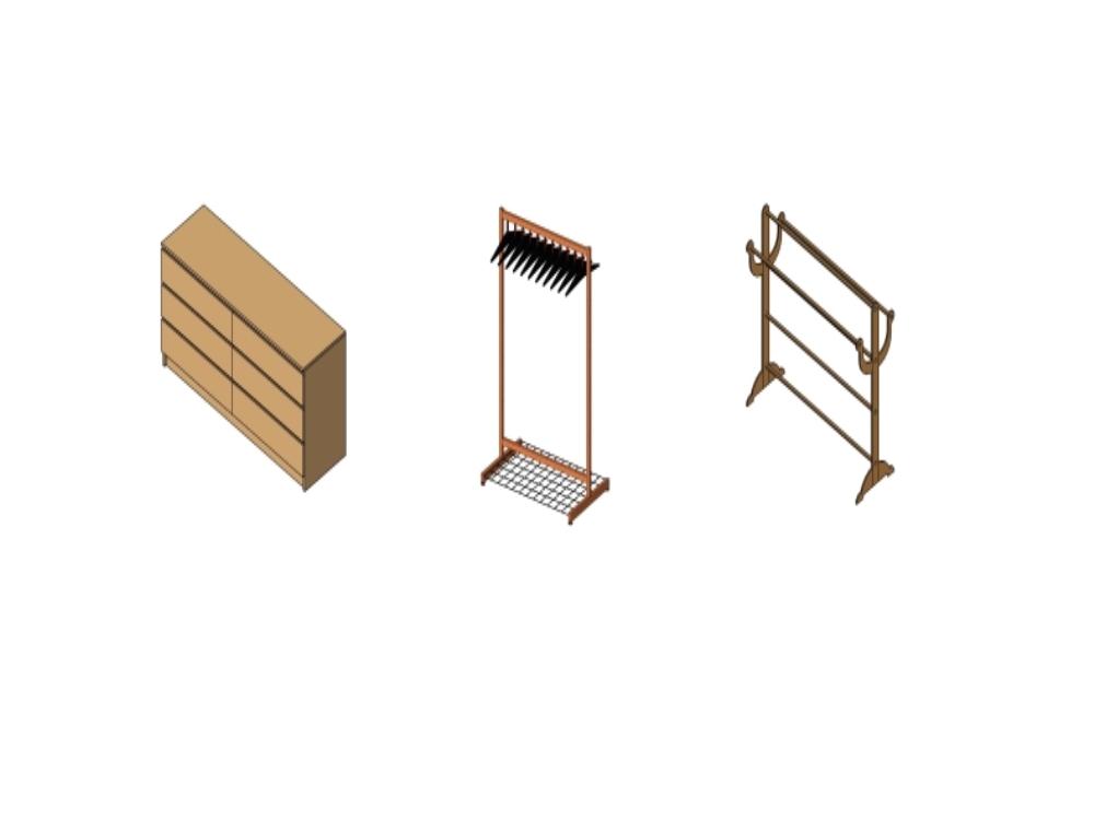Bedroom Furniture Revit In Rfa Download Cad Free 584 28 Kb Bibliocad