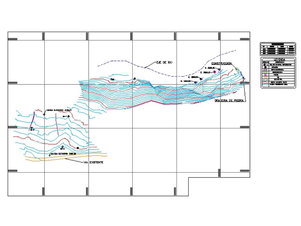 Plano topografico_chivay_arequipa