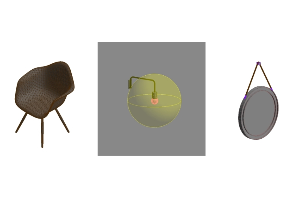 Revit2017 familias para el diseño de interiores.
