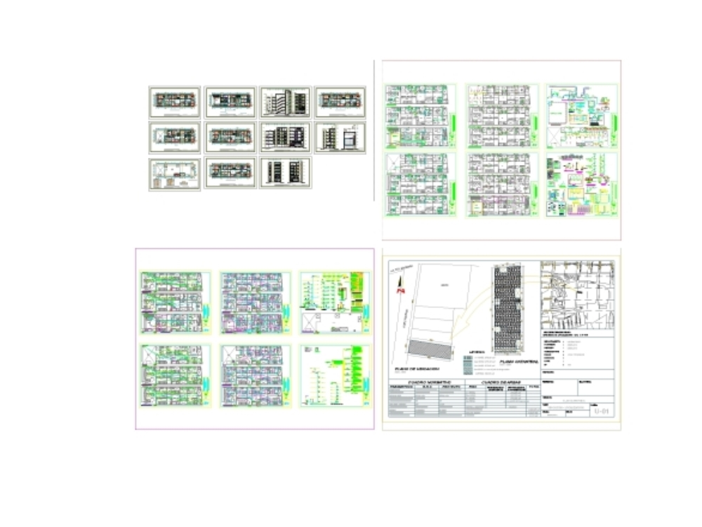 Modern clinical project of 400.00 m2